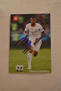 Akanji Manuel - fotbal