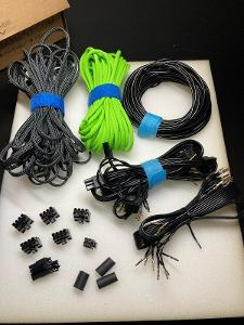Custom PC kabely ke zdroji