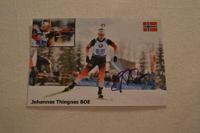 Boe Johannes Thingnes - biatlon