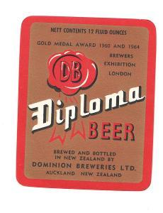 Pivní etiketa Nový Zéland