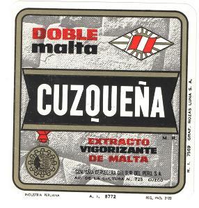 Pivní etiketa Peru