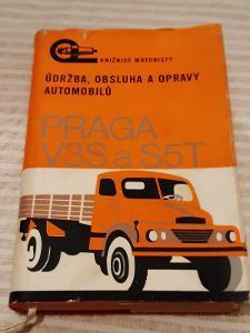 Údržba,obsluha a opravy automobilů PRAGA V3S a S5T