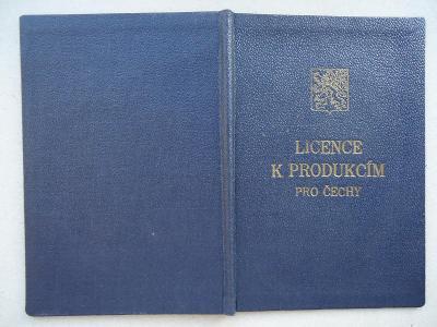 Licence k produkcím pro Čechy-František Smažík - 1948