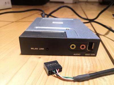 Audio + wifi karta