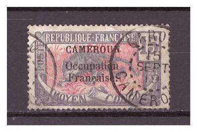 """Kamerun 1916 overprint """"CAMEROUN Occupation.."""" Michel 35"""