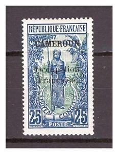 """Kamerun 1916 overprint """"CAMEROUN Occupation.."""" Michel 37"""