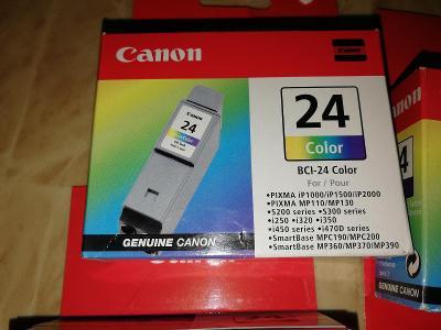Canon BCI-24    1X černá, 3X barevná
