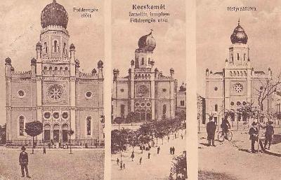 MAĎARSKO - KECSKEMÉT - SYNAGOGA -18-ZY73