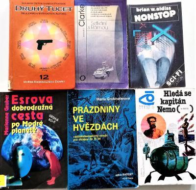 15 x SCI-FI. Knihy a sborníky.
