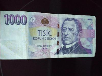 Bankovka 1000 kč,,,J 03,,,,,2008