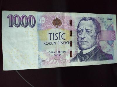 Bankovka 1000kc,,,,I 09,,,,2008