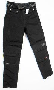 Textilní kalhoty dámské ROAD- vel. S, pas: 70-84 cm