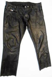 Kožené kalhoty HELD- vel. 8XL/68, pas: 122 cm