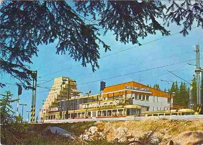 Vysoké Tatry, Štrbské pleso, hotel Panoráma