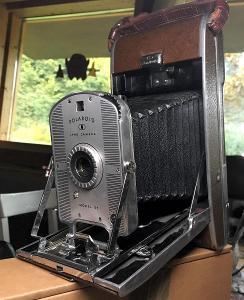 Unikátní fotoaparát Polaroid Land model 95
