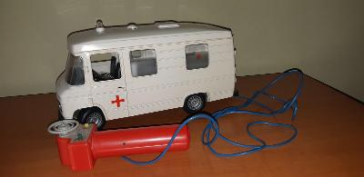 Mehanotehnika Izola Mercedes 408 stará hračka nie Kdn Ites Igra Směr