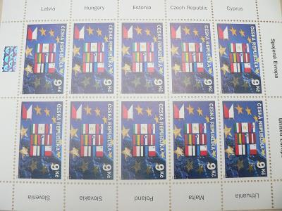 Známky 2004, Deset nových členských zemí EU