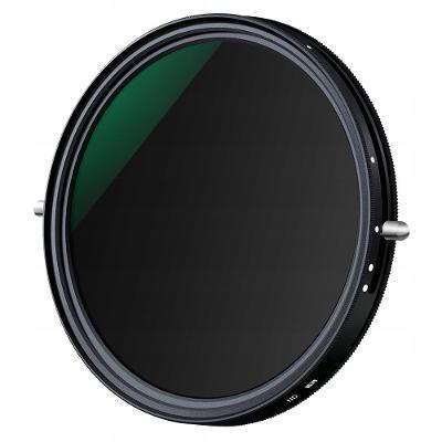 Hybridní filtr 2v1 CPL + ŠEDÝ ND2-ND32 FADER 72 mm / KF01.1141