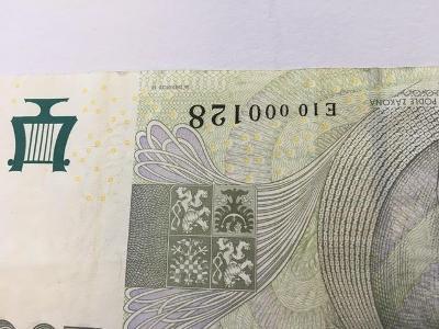 Bankovka 2000,- Kč, serie E