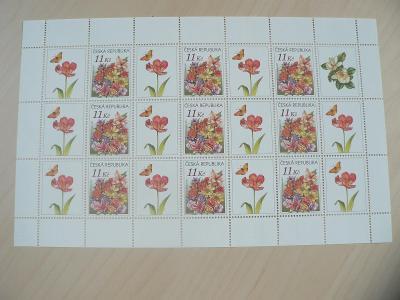 Známky 2007, Květiny