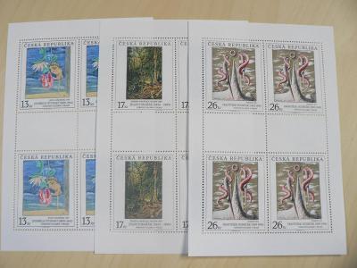 Známky 1999, Umělecká díla na známkách
