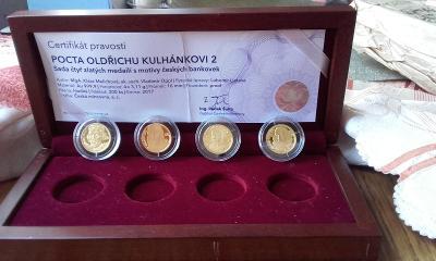Zlaté mince  -  Pocta Oldřichu Kulhánkovi 2