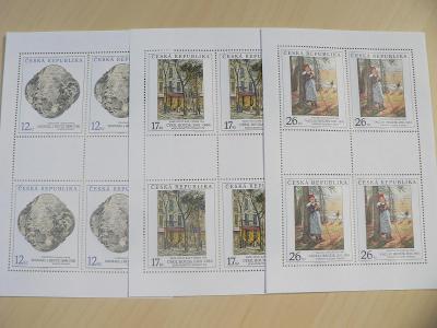 Známky 2001, Umělecká díla na známkách