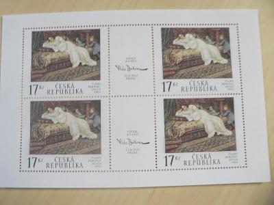 Známky 2002, Umělecká díla na známkách