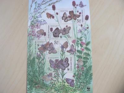 Známky 2002, Ochrana přírody - ohrožení motýli