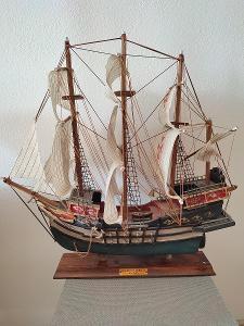 Model staré lodi - Galeon Flamenco 1593