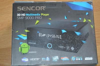 Sencor  3D HD Multimédia Player SMP 9000 PRO
