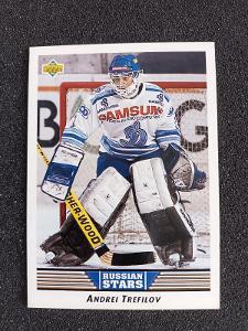 Upper Deck 92/93 Andrej Trefilov Dynamo Moskva