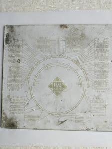 Staré rádio - stupnice Telefunken