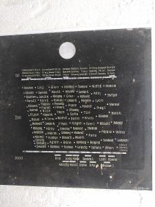Staré rádio - stupnice