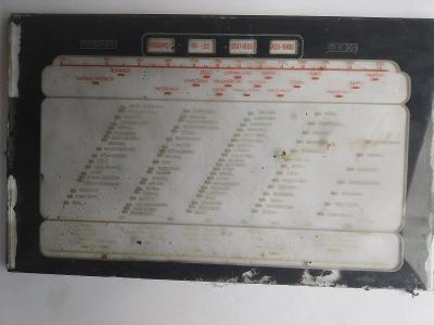 Staré rádio - stupnice MK 309
