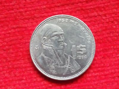 Mexiko 1 peso 1984