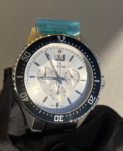 Nové luxusní hodinky - švýcarské chronografy EDOX C1 Big Date
