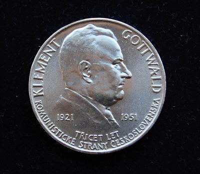 ČSR - 100 Kčs 1951 Klement Gottwald