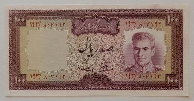 IRÁN (P091a) 100 Rials ND(1971) AU-UNC