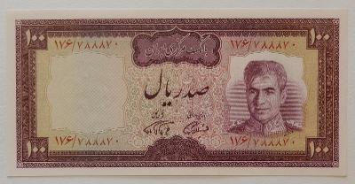 IRÁN (P091b) 100 Rials ND(1971) UNC