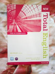 Pracovní sešit k učebnici New Total English, použitý