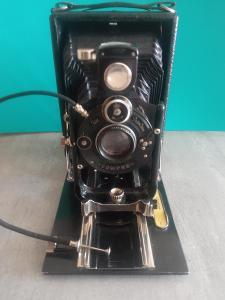 Fotoaparát compur ica Dresden +příslušenství !!!