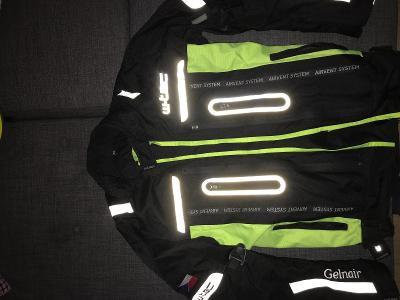 Reflexní bunda na motorku stav jako nové