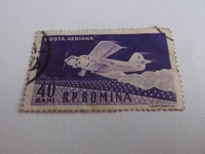 Prodávám známky Rumunsko 1960, Zemědělství-Práškovací letadlo