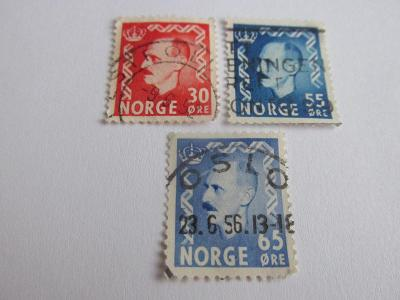 Prodávám známky  Norsko 1952, Král Haakom VII.