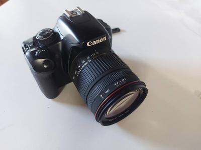 Canon EOS 450D + Sigma 18-200mm