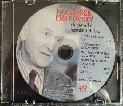 CD František Filipovský - Čte Povídky Jaroslava Haška