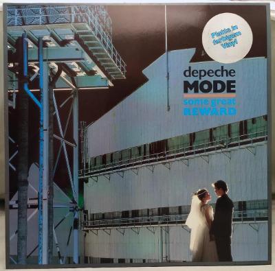 Depeche Mode – Some Great Reward 1984 Germany Vinyl LP Grey Vinyl