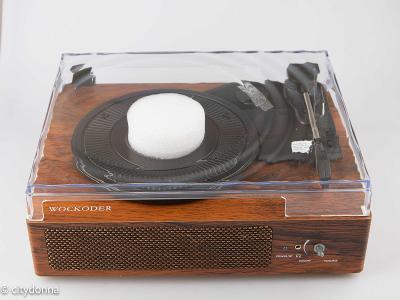 Gramofon WOCKODER+ / 3 rychlosti / Bluetooth / Jack/ OD 1Kč