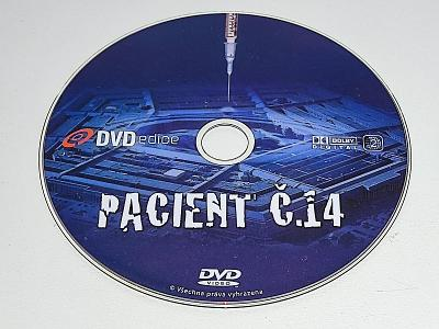 PACIENT Č.14 / NA DVD PÁR JEMNÝCH ŠKRÁBEK - BEZ OBALU